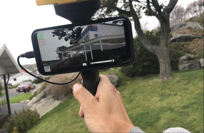Trimble SiteVision Augmented Reality