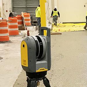 Trimble X7 Floor Flatness Reporting & Inspection!
