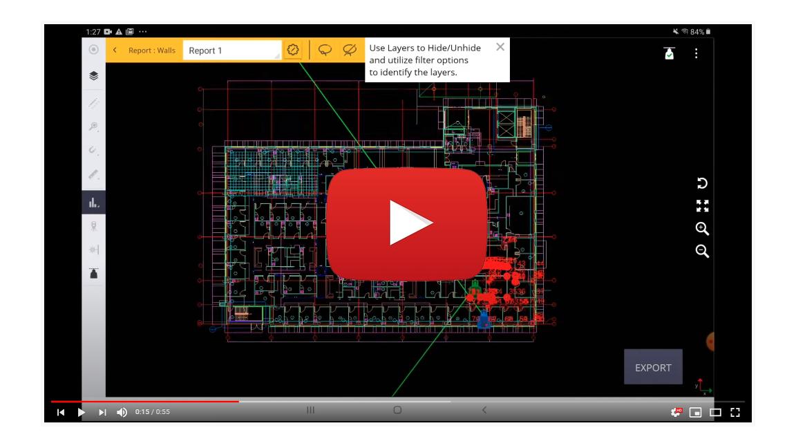 Reporting Walls - QML XT Layout App