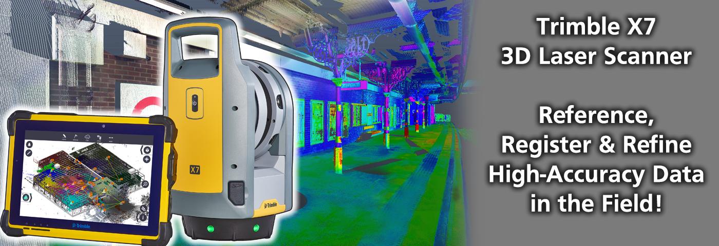 Trimble X7 3D Scanner